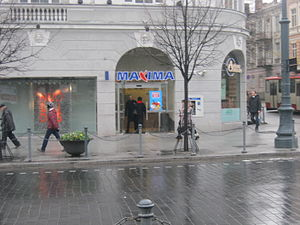 Maxima Group - Maxima X store in Vilnius.