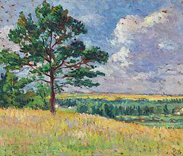 Paysage près de Méréville, c. 1905
