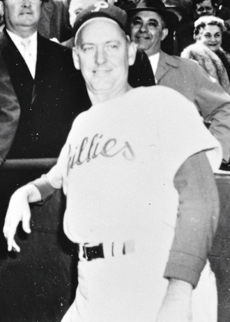 Mayo Smith - Smith during his tenure with the Phillies