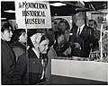 Mayor John F. Collins with unidentified children at The Provincetown Historical Museum (11223280355).jpg