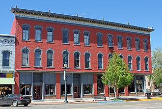 Cañon City Downtown Historic District - McClure House/Strathmore Hotel