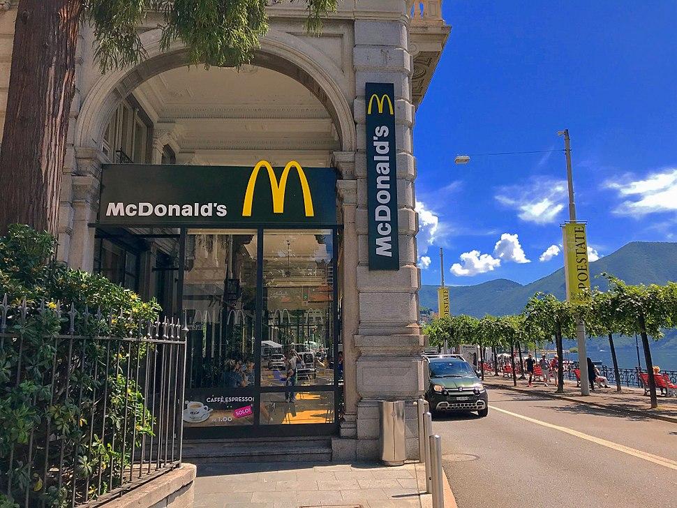 McDonalds Lugano Switzerland