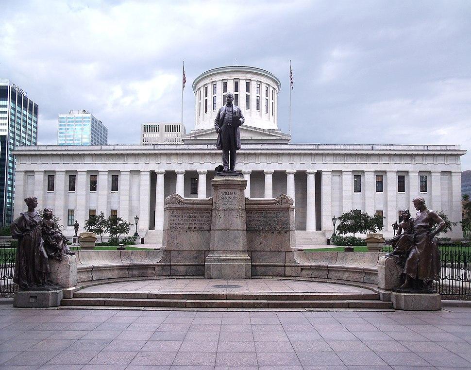 McKinley Memorial Ohio Statehouse