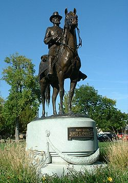 Sculpture of James B. McPherson, 2004
