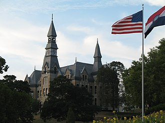 Parkville, Missouri - McKay Hall at Park University