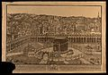 Mecca; shrine of Ka`bah within the Al-Haram mosque, with a Wellcome V0050135.jpg