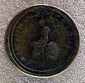Medaglione bimetallico di commodo, 184 dc, verso con roma seduta.JPG