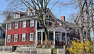 Jonathan Fletcher House - Image: Medford MA Jonathan Fletcher House
