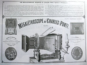 Megalethoscope - Description of Ponti's Megalethoscope