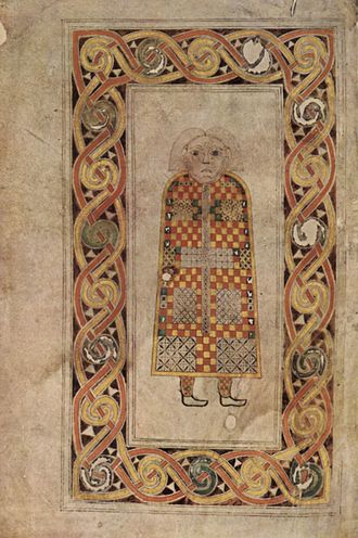 Book of Durrow - Image: Meister des Book of Durrow 001