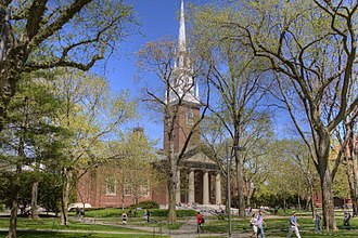 Memorial Church of Harvard University - Image: Memorial Church 2