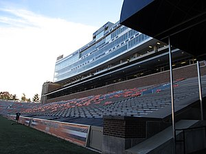 Memorial Stadium Champaign East Stands 2013