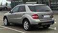 Mercedes-Benz ML 320 CDI 4MATIC (W 164) – Heckansicht, 27. April 2011, Velbert.jpg