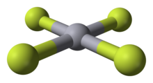 Mercury tetrafluoride s structure was studied in the 2007 paper