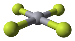 Mercury(IV) fluoride chemical compound (HgF₄)
