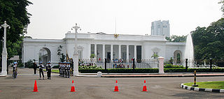 Merdeka Palace Official residence of the President of the Republic of Indonesia