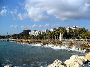 Mersin Yenişehir shore to west