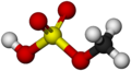 Methyl bisulfate-Molecule-3D-balls-by-AHRLS 2011.png