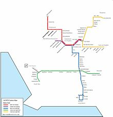 Redline Metro Map Los Angeles.Getting Around Los Angeles By Rail Stops And Facilities Metro Rail