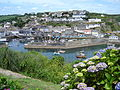 Mevagissey with Feast Week Flags.jpg