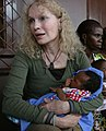 Mia Farrow holding Central African baby.jpg