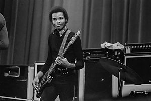 Michael Henderson - Henderson performing in 1971, with Miles Davis.