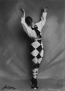 Michel Fokine Russian ballet dancer and choreographer