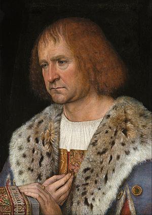 Michael Sittow - Diego de Guevara by Sittow, ca. 1517