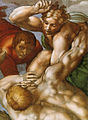 Michelangelo, giudizio universale, dettagli 29.jpg