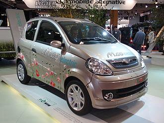 Microcar (brand) - Microcar M.Go Electric at the 2008 Paris Motor Show