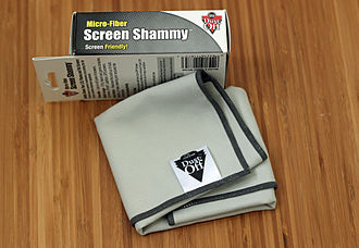 "Chamois leather - Synthetic microfiber ""Shammy""  cloth"