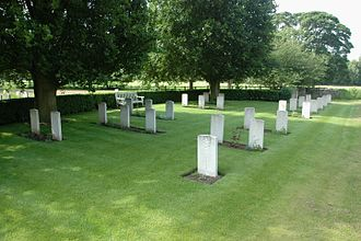 Middleton Stoney - CWGC section in All Saints' parish churchyard