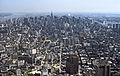 Midtown New York City from Two World Trade Center - June 1984.jpg