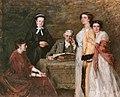 Mijne huisgenooten (ca. 1915) door Thérèse Schwartze.jpg