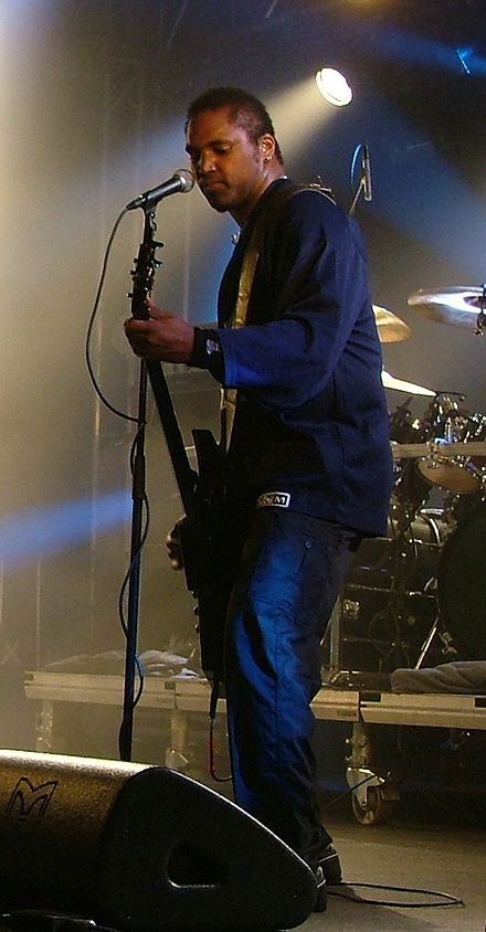 Mike Alexander (22 June 1977 – 5 October 2009) Mike Alexander (Evile), Tuska 2009.jpg