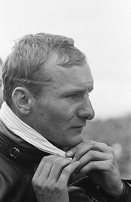 Mike Hailwood won de 500cc-race in Assen