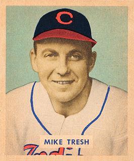 Mike Tresh American baseball player