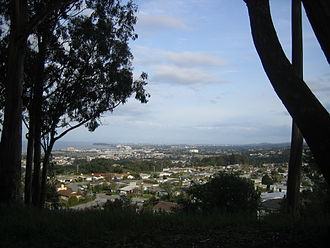 Millbrae, California - General view of Millbrae