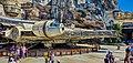 Millennium Falcon Star Wars Galaxy's Edge Disneyland Resort in Anaheim, California (48512627247).jpg