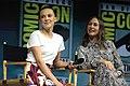 Millie Bobby Brown & Vera Farmiga (42820282485).jpg