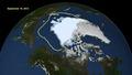 Minimum de glace arctique 16 septembre 2012 3,41 millions de kilomètres carrés.tif