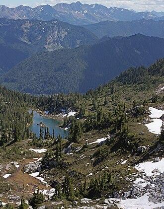 Henry M. Jackson Wilderness - Image: Minotaur Lake 0087s