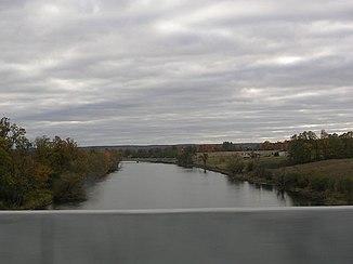 Der mississippi river bei antrim