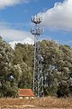 Mobile phone mast at galley hill junction on A14 - geograph.org.uk - 310847.jpg