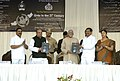 """Mohd. Hamid Ansari releasing a Urdu poetry book written by school children of K M E society's G.M., College Bhiwandi, at inaugural function of National conference on """"Urdu in the 21th Century"""", at Bhiwandi, Dist. Thane.jpg"""