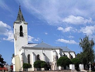 Moldava nad Bodvou Town in Slovakia