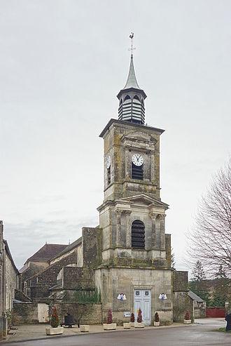 Molesme - The church in Molesme