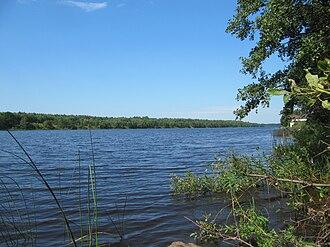 Mologa River - The lower course of the Mologa