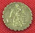 Monetiere di fi, moneta romana repubblicana con eracle e il leone nemeo 03.JPG