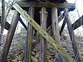 Monroe County - Victor Pike - abandoned railway - trestle - P1120783.JPG